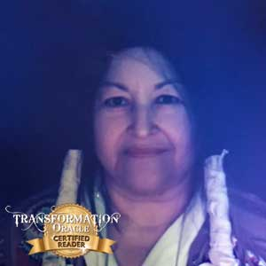 Grandmother Wahseh, Transformation Oracle Certified Reader