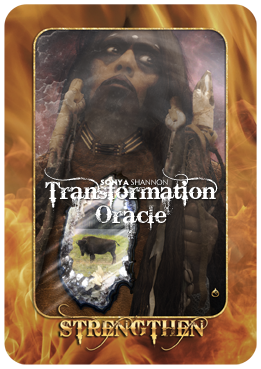 Strengthen card in Sonya Shannon's Transformation Oracle