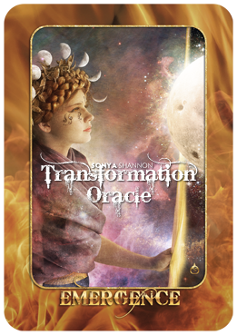 Emergence card in Sonya Shannon's Transformation Oracle