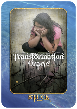 Stuck card in Sonya Shannon's Transformation Oracle