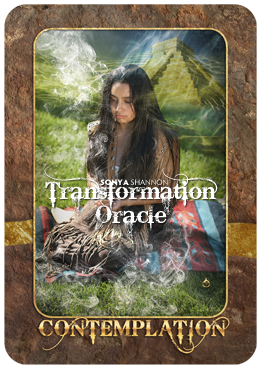 Contemplation card in Sonya Shannon's Transformation Oracle