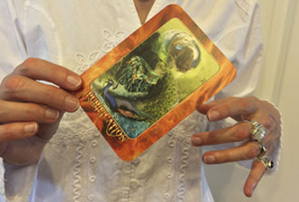Reading a Transformation Oracle Card