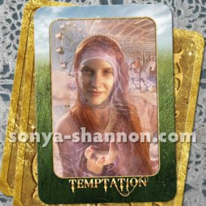 Temptation Card from the Transformation Oracle