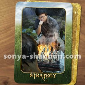 Strategy card from the Transformation Oracl
